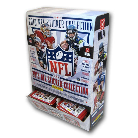 2012 Panini NFL Stickers and Album Combo Display - Peazz.com