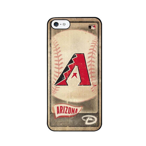 Vintage Iphone 5 Case - Arizona Diamondbacks - Peazz.com