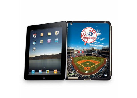 Ipad3 Stadium Collection Baseball Cover - New York Yankees Field - Peazz.com