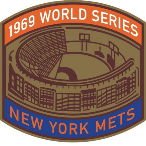 MLB World Series Patch - 1969 Mets - Peazz.com