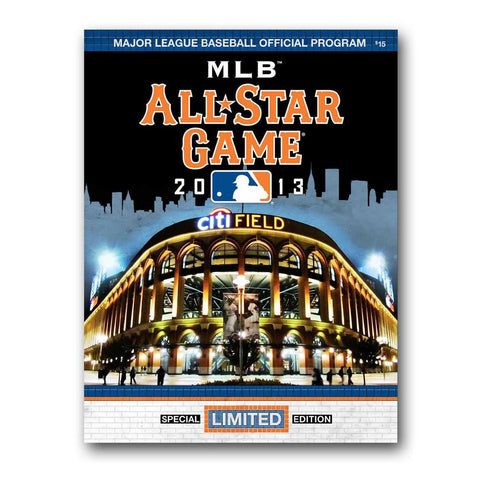2013 MLB All Star Game Program - Peazz.com