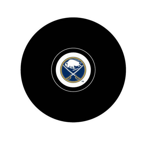 Team Logo Hockey Puck - Buffalo Sabres - Peazz.com