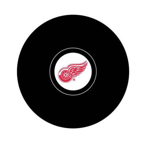 Team Logo Hockey Puck - Detroit Red Wings - Peazz.com
