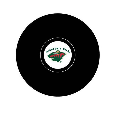 Team Logo Hockey Puck - Minnesota Wild - Peazz.com