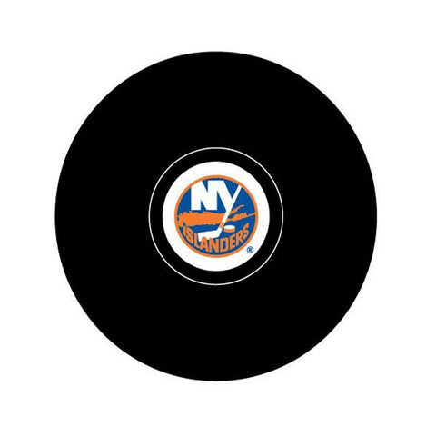 Team Logo Hockey Puck -  New York Islander - Peazz.com