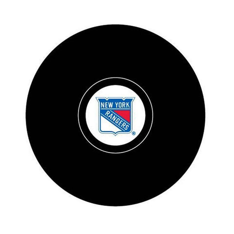 Team Logo Hockey Puck - New York Rangers - Peazz.com