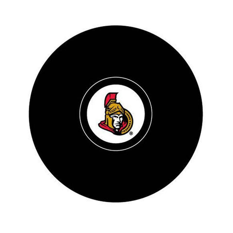 Team Logo Hockey Puck - Ottawa Senators - Peazz.com