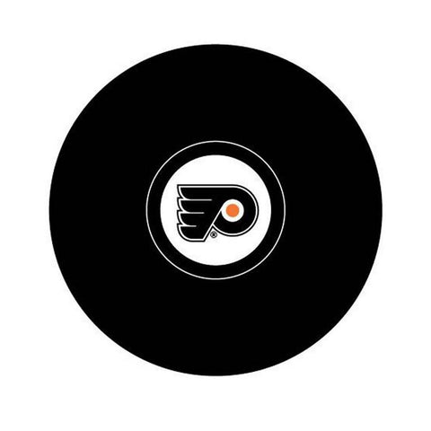Team Logo Hockey Puck - Philadelphia Flyers - Peazz.com