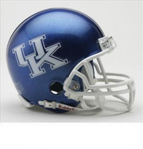 Collegiate Mini Replica Helmet - University of Kentucky - Peazz.com