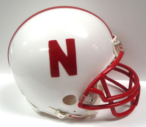 Collegiate Mini Replica Helmet - Nebraska - Peazz.com
