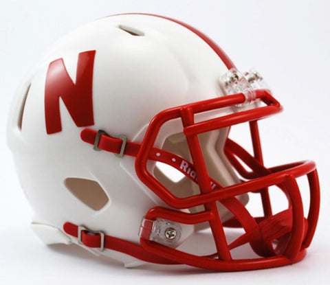 Mini Speed Replica Helmet - Nebraska Cornhuskers - Peazz.com