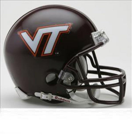 Collegiate Mini Replica Helmet - Virginia Tech. - Peazz.com