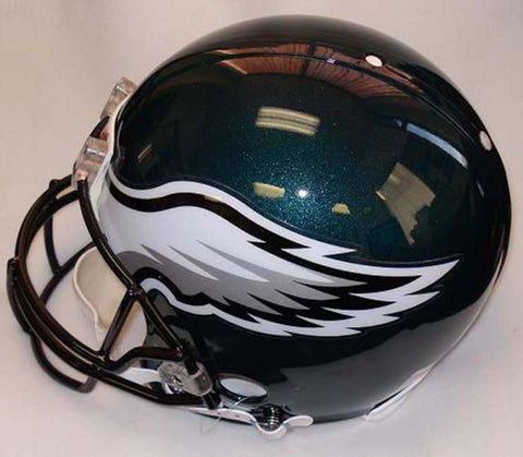 NFL Full Size Deluxe Replica Helmet - Eagles - Peazz.com