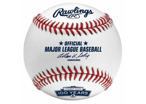 Rawlings Boston Red Sox Fenway 100Th Anniversary Baseball - Peazz.com