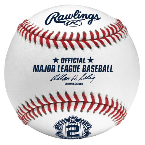 Derek Jeter Retirement Boxed Baseball - Peazz.com