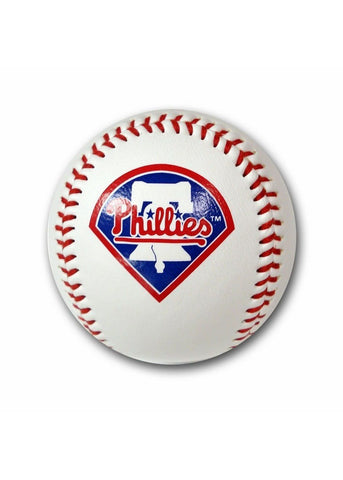 Baseball With Team Logo - Philadelphia Phillies - Peazz.com