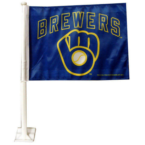 Car Flag By Rico - MLB - Milwaukee Brewers - Peazz.com