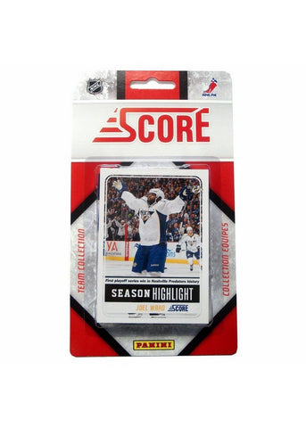 2011/12 Score NHL Team Set - Nashville Predators - Peazz.com
