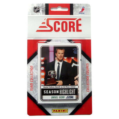 2011/12 Score NHL Team Set - Vancouver Canucks - Peazz.com