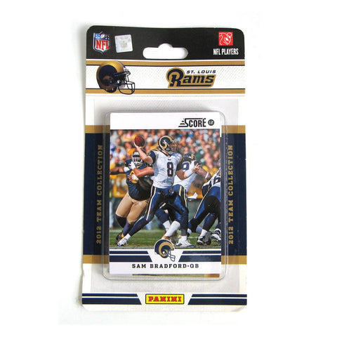 2012 Score NFL Team Set - Saint Louis Rams - Peazz.com