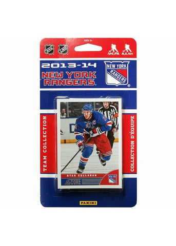 2013/14 Score NHL Team Set - New York Rangers - Peazz.com