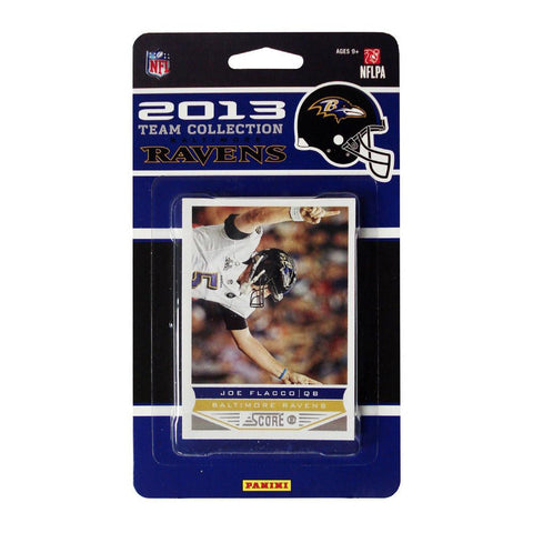 2013 Score NFL Team Set Ravens - Peazz.com