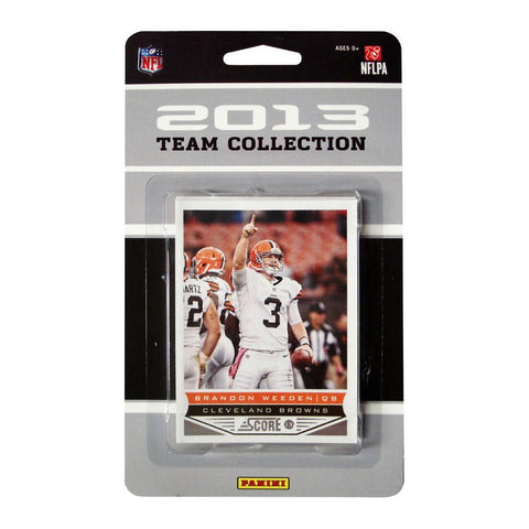 2013 Score NFL Team Set Browns - Peazz.com