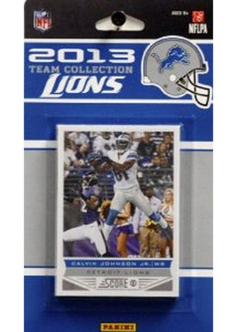 2013 Score NFL Team Set Lions - Peazz.com