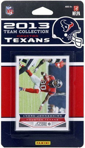 2013 Score NFL Team Set Texans - Peazz.com