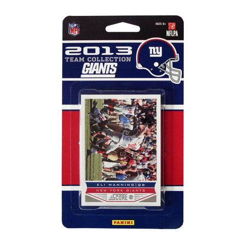 2013 Score NFL Team Set Giants - Peazz.com