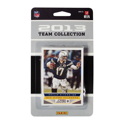 2013 Score NFL Team Set Chargers - Peazz.com