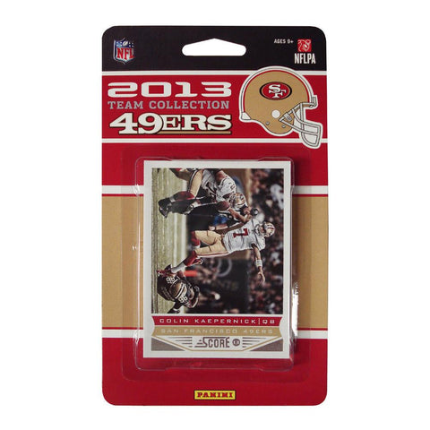 2013 Score NFL Team Set 49ers - Peazz.com