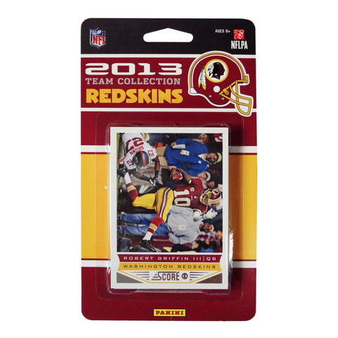 2013 Score NFL Team Set Redskins - Peazz.com