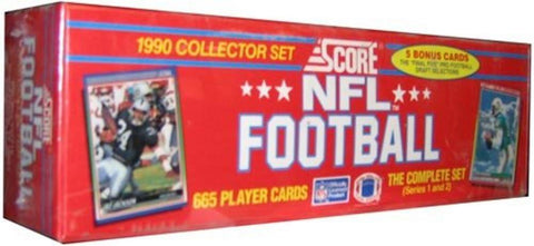 1990 Score Football Cards Factory Set - Peazz.com