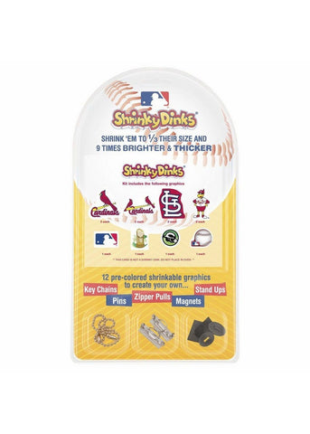 St. Louis Cardinals  Shrinky Dinks - Peazz.com