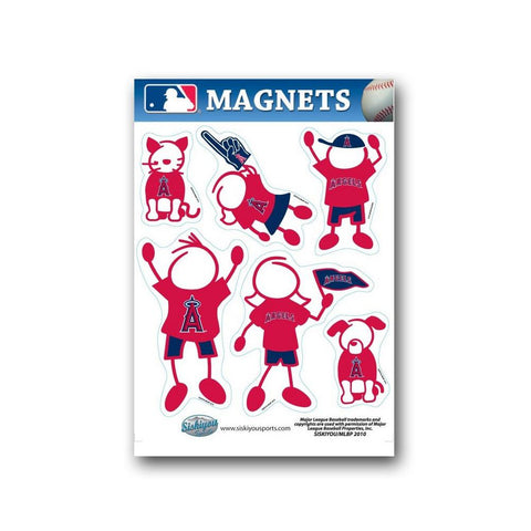 Family Magnets - Los Angeles Angels - Peazz.com