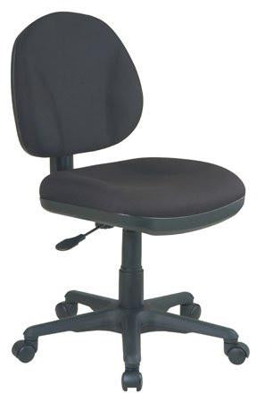 Work Smart 8120-231 Sculptured Task Chair without Arms - Peazz.com