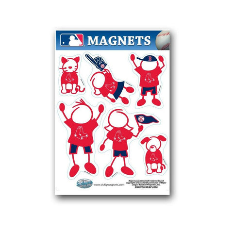 Family Magnets - Boston Red Sox - Peazz.com