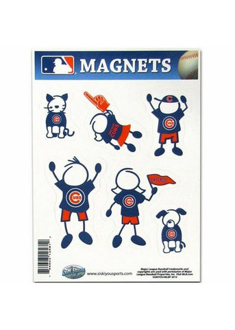 Family Magnets - Chicago Cubs - Peazz.com