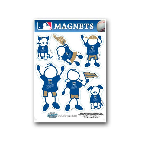 Family Magnets - Kansas City Royals - Peazz.com