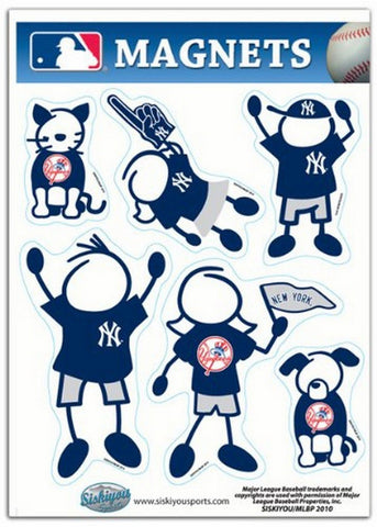 Family Magnets - New York Yankees - Peazz.com