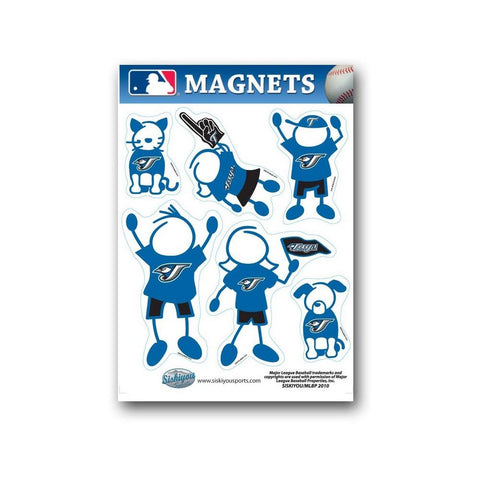 Family Magnets - Toronto Blue Jays - Peazz.com