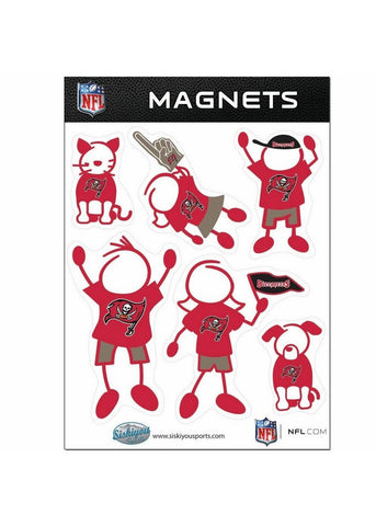 Family Magnets - Tampa Bay Buccaneers - Peazz.com