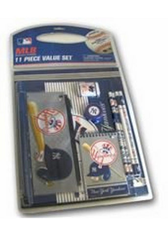 11 Piece Stationery Set - New York Yankees - Peazz.com