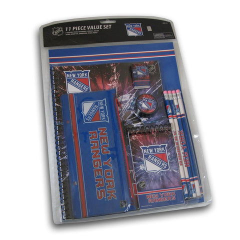 11PC Stationery Set - New York Rangers - Peazz.com