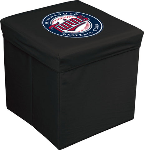 16-Inch Team Logo Storage Cube - Minnesotta Twins - Peazz.com