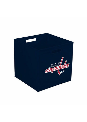 Storage Cube 12-Inch, Cloth - Washington Capitals - Peazz.com