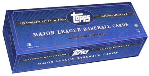 2002 Topps MLB Factory Set - Peazz.com