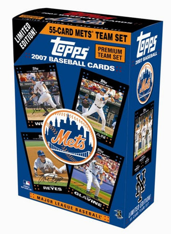 Topps Baseball Premium Team Sets - Mets - Peazz.com