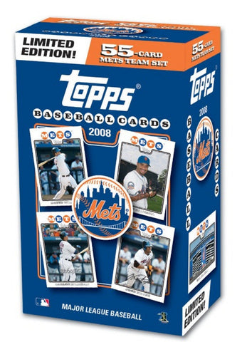 2008 Topps MLB Team Gift Set - Mets - Peazz.com